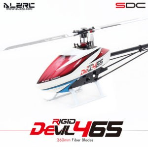 ALZRC Devil 465 Rigid Black