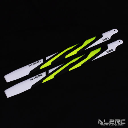 Carbon Fiber Blades - 380mm - Painting - Yellow