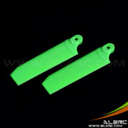 Devil 500 75mm Tail Blade - Green