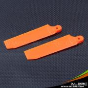 Devil 500 75mm Tail Blade - Orange