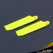 Devil 500 75mm Tail Blade - Yellow