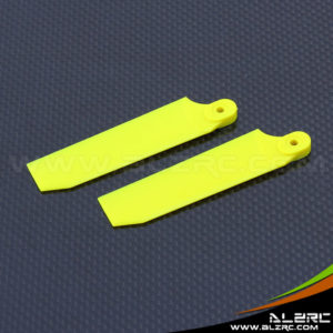 Devil 500 75mm Tail Blade - Yellow
