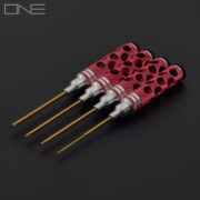 Hex Screwdriver Tool Kit - Red - H1.5/H2.0/H2.5/H3.0