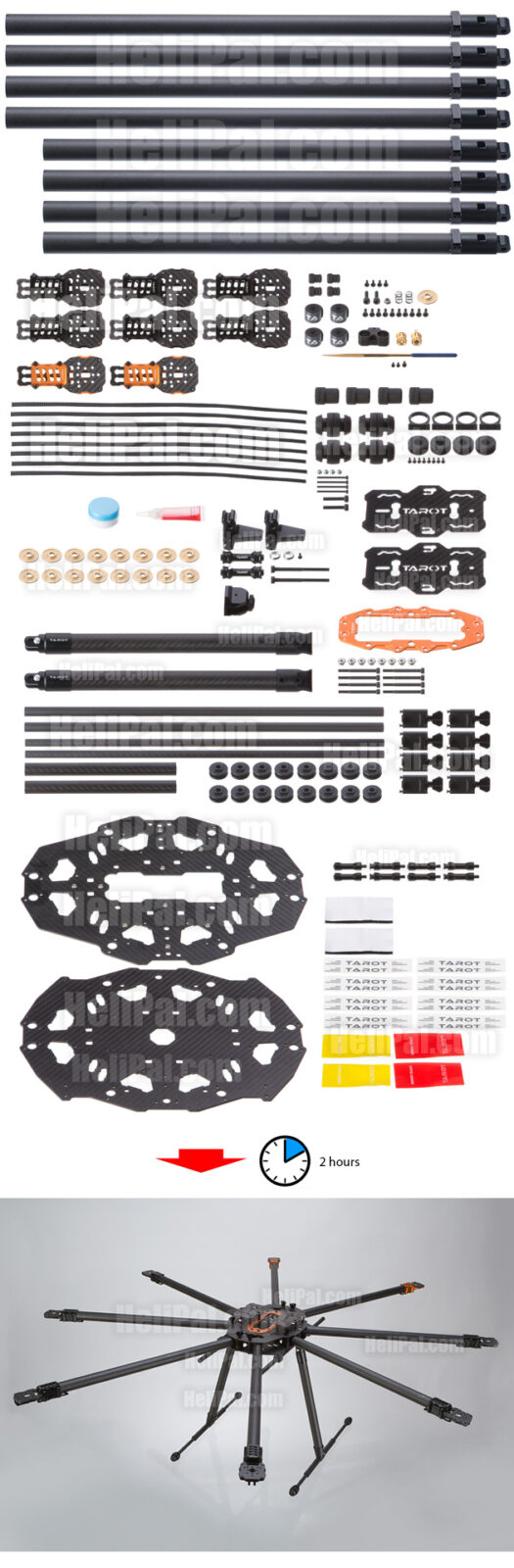 Tarot T18 Octocopter Kit
