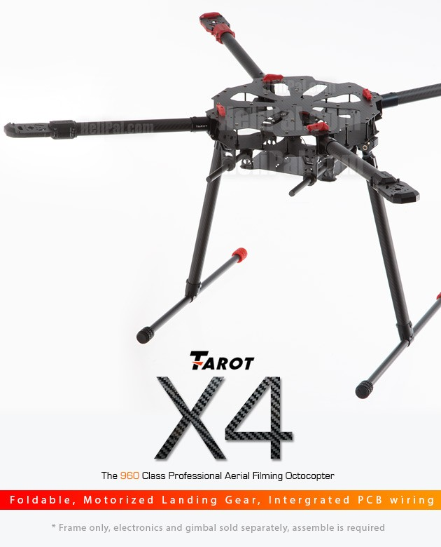 Tarot X4 Quadcopter Build Kit