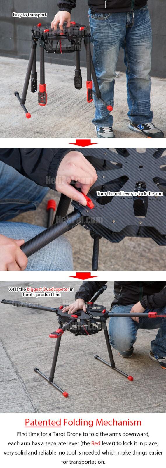 Tarot X4 Quadcopter Kit