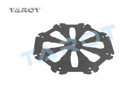 Tarot X8 CF Upper Plate TL8X019