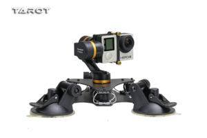 Tarot Flip Head Camera Gimbal T-DZ Vehicle 3-Axis Metal Mounted Gimbal for GoPro Camera