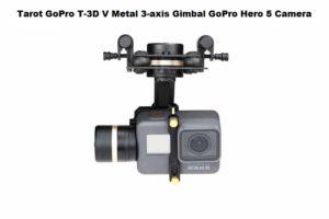 Tarot GoPro T-3D V Metal 3-axis Gimbal GoPro Hero 5 Camera