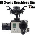 Tarot T4-3D 3-Axis Brushless Gimbal