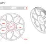 Tarot RC Heli 600 CNC Main Gear