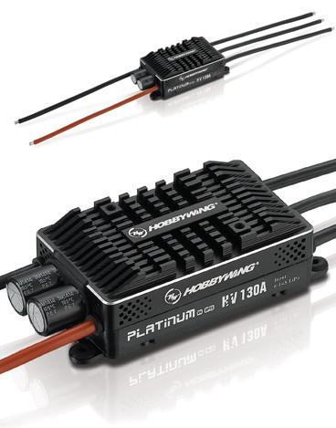 HobbyWing V4 Platinum-130A-HV-OPTO High Voltage ESC