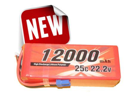 Alpha RC 12000MAH 25C 6S Lipo