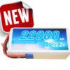 Alpha RC 22000MAH 25C 6S Lipo