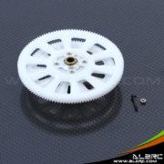 Devil 450 New 121T Slant Thread Main Drive Gear Assembly - White